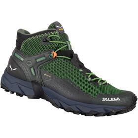 SALEWA Ultra Flex 2 GTX Mid Shoes Men, verde/negro